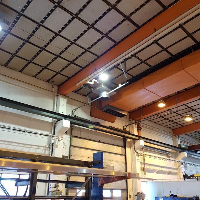LED Industribelysning