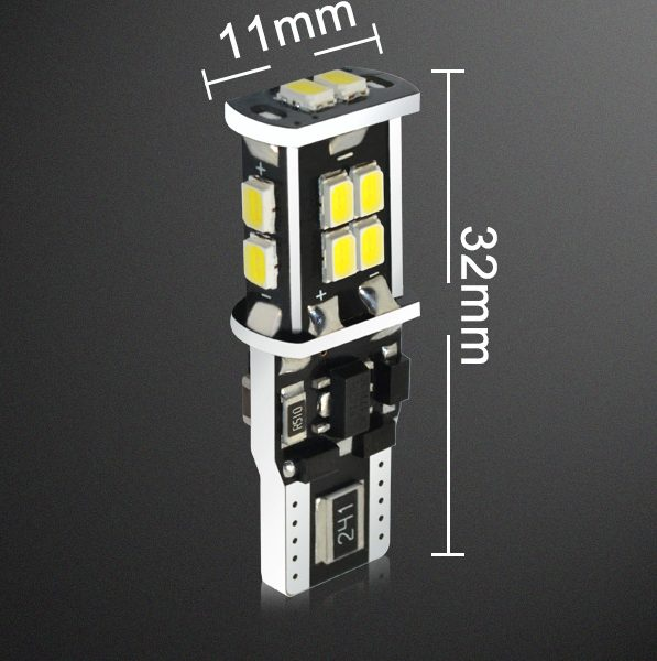 LED billampa T10 Canbus-14SMD
