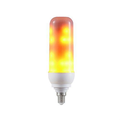 Flammande LED-lampa